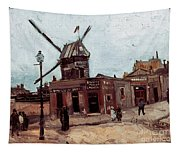 Van Gogh: La Moulin, 1886 Tapestry