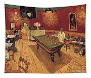 Van Gogh Night Cafe 1888 Tapestry