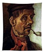 Van Gogh: Peasant, 1884 Tapestry