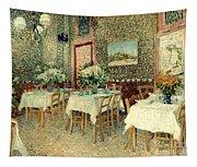 Van Gogh: Restaurant, 1887 Tapestry