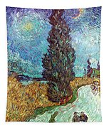Van Gogh: Road, 1890 Tapestry