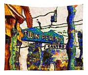 Van Gogh Takes A Wrong Turn And Discovers The Castro In San Francisco . 7d7547 Tapestry