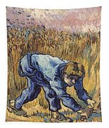 Van Gogh: The Reaper, 1889 Tapestry