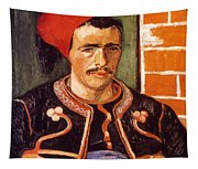 Van Gogh: The Zouave, 1888 Tapestry