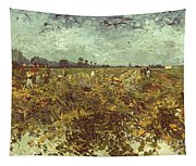 Van Gogh: Vineyard, 1888 Tapestry