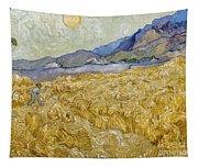 Van Gogh: Wheatfield, 1889 Tapestry