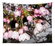 Vancouver Cherry Blossoms Tapestry