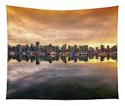 Vancouver Reflections Tapestry