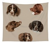 Variations Of A Spaniel Tapestry