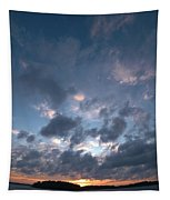 Variations Of Sunsets At Gulf Of Bothnia 5 Tapestry
