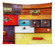 Various Old Drawers - In Utter Secrecy Tapestry