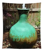 Vase Fountain Tapestry
