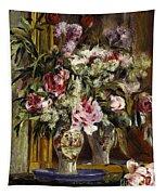 Vase Of Flowers, 1871  Tapestry