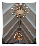 Vaulted Lights Tapestry