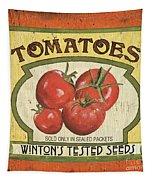 Veggie Seed Pack 3 Tapestry by Debbie DeWitt