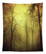 Veiled Trees Tapestry