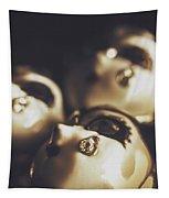 Venetian Masquerade Mask Rings Tapestry