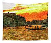 Venice Eventide Tapestry