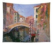 Venice Ponte Vendrraria Tapestry