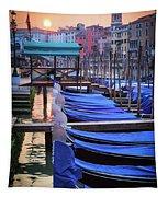 Venice Sunrise Tapestry