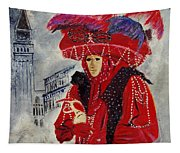 Venitian Mask 0130 Tapestry