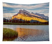 Vermillion Lakes And Mt Rundle II Tapestry