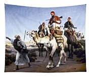 Vernet: Arabs, 1843 Tapestry