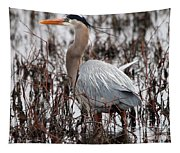 Very Handsome Heron  2845 Tapestry