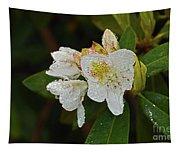 Very Wet Flower Tapestry