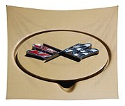 Vette Flags Tapestry