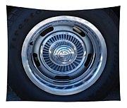 Vette Wheel Tapestry