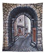 Via In Santo Stefano Tapestry