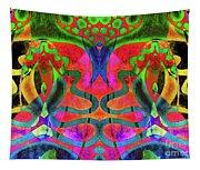 Vibrant Swirls Tapestry
