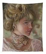 Victorian Beauty Tapestry