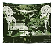 Victorian Garden Poster Tapestry