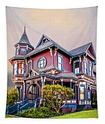 Gingerbread House Tapestry