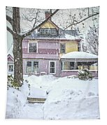 Victorian Snowstorm Tapestry