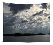 View Across Wappapello Lake II Tapestry