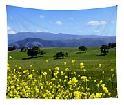 View From Highway 154 Tapestry