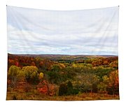 View From Kidder Road Tapestry