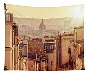 View From Montmartre Tapestry