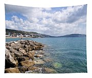 View From North Wall - Lyme Regis Tapestry