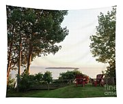 View From Ring Dang Doo South Hero Vermont Tapestry