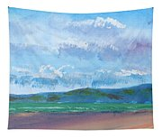 View From Sandy Bay Exmouth Tapestry