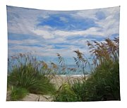 View From The Outer Banks Dunes Tapestry