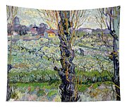 View Of Arles Tapestry
