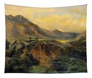View Of Bagneres De Luchon. Pyrenees Tapestry