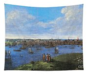 View Of Boston, 1738 Tapestry