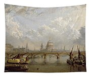 View Of London  Tapestry
