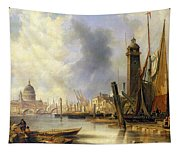 View Of London With St Paul's Tapestry